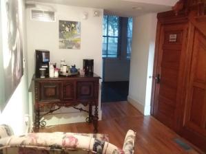 Coffee area / restroom
